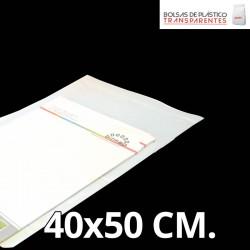 Bolsas de Plastico Polipropileno Cpp con Solapa Adhesiva 40x50 cm.