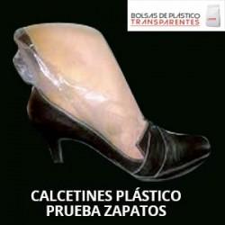 Calcetin Plastico Transparente Pruebazapatos