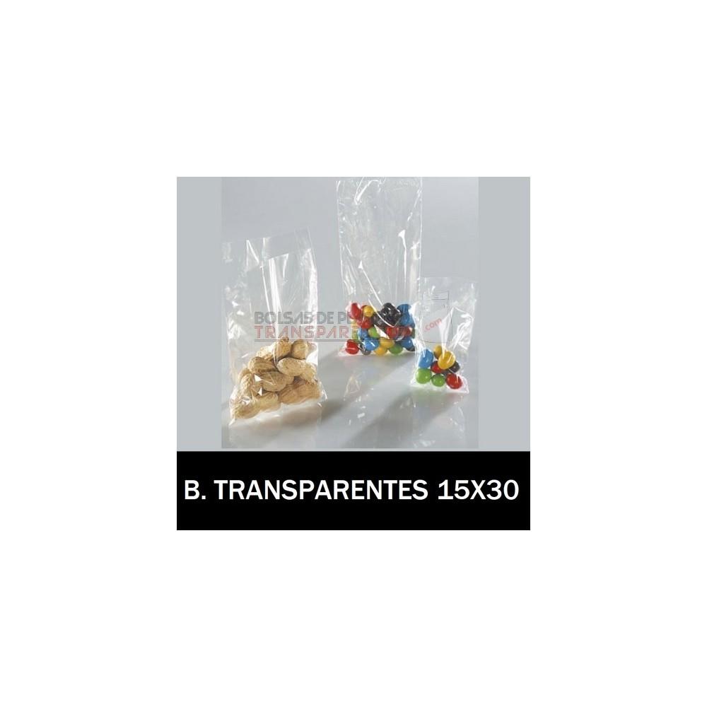 f139f80d2 Bolsas de Plastico Transparentes Polietileno 15x30 cm. Loading zoom