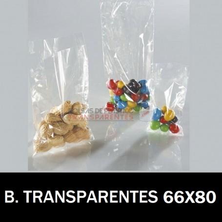 Bolsas de Plastico Transparentes Polietileno 66x80 cm