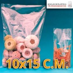 Bolsas de Plastico Transparentes Polietileno 10x15 cm.