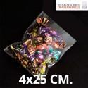 Bolsa de Plástico Transparente Polipropileno 4x25 cm.