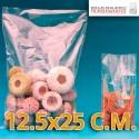 Bolsas de Plastico Transparentes Polietileno 12.5x25 cm.