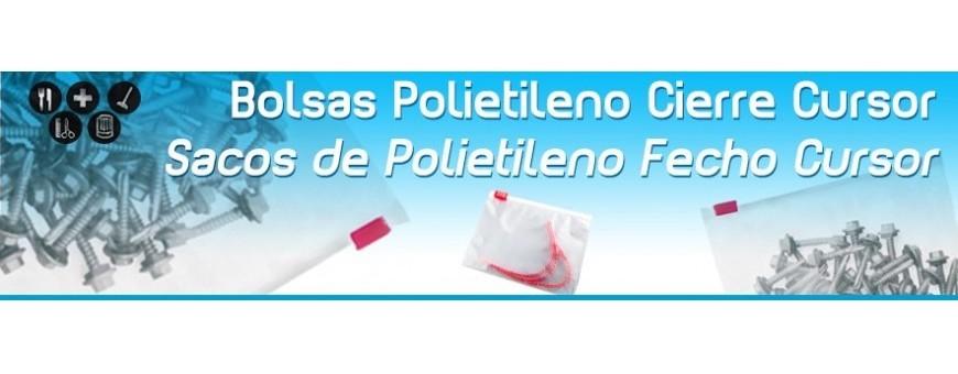 Bolsas de Plastico con Cierre Cursor
