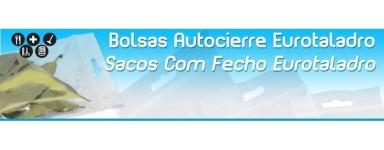 Bolsas de Plastico con Autocierre y Eurotaladro