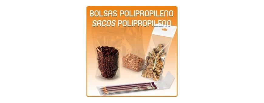 Bolsas de Plastico Transparentes Polipropileno