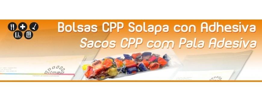 Bolsa de Plastico CPP con Solapa Autoadhesiva