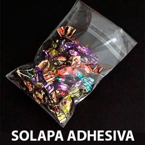 bolsas con solapa adhesiva
